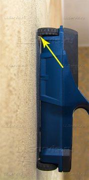 примыкание прибора к стене